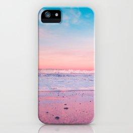 pastel beach #society6 iPhone Case