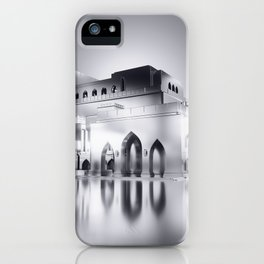 Sultanate Of Oman - Royal Opera House (Black & White) iPhone Case