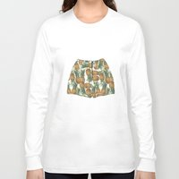 pineapples Long Sleeve T-shirts featuring Pineapples by Stephany Moreno