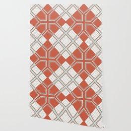 Coral Ornate Pattern Design Wallpaper