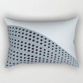 Echo grid Rectangular Pillow
