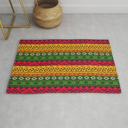 African pattern No3 Rug