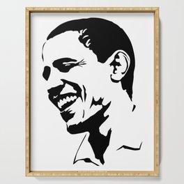 Barack Obama Serving Tray