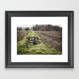Out of Season Framed Art Print
