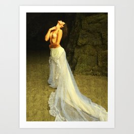 The Longing of Circe Art Print