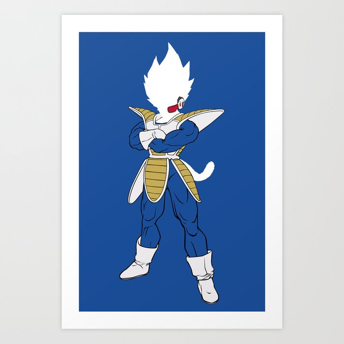 Suit Up Vegeta Kunstdrucke