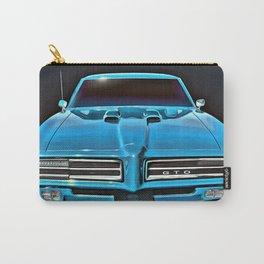 Bonnie Blue 1969 GTO Carry-All Pouch