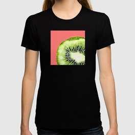 Kiwi on Coral T-shirt
