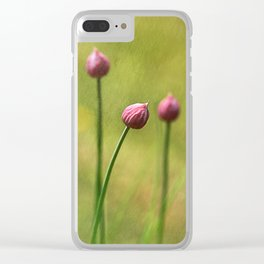 Chives Clear iPhone Case