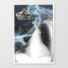 killer escape... Canvas Print