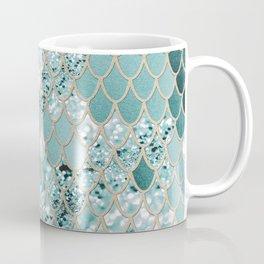 Mermaid Glitter Scales #3 #shiny #decor #art #society6 Coffee Mug