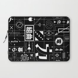 Electric Power Suite In The Key of C Laptop Sleeve