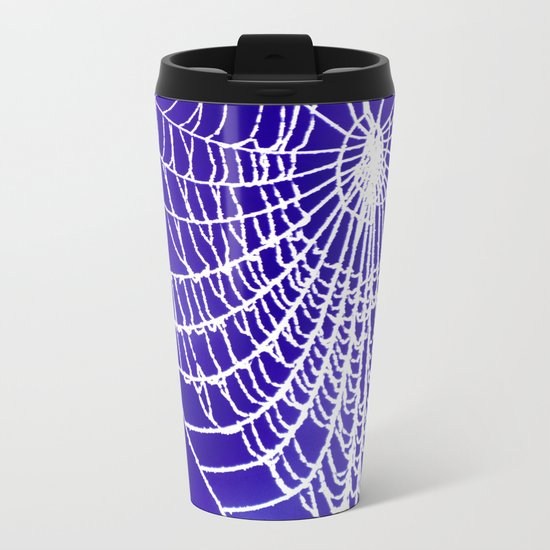 FROSTY :) Metal Travel Mug