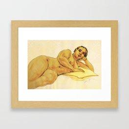 Loungelizard Framed Art Print