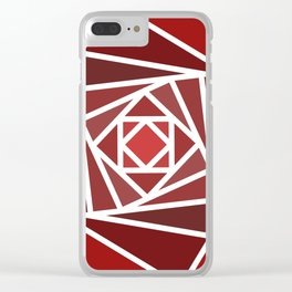 Ruby rose Clear iPhone Case