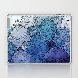 The Blue Sky Rocks Laptop & iPad Skin