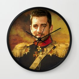 Aaron Rodgers Classical Regal General Painting Wall Clock