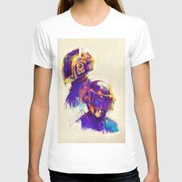 Fanart Painting illustration of daft punk T-shirt