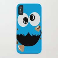cookie monster iPhone & iPod Cases featuring Cookie Monster  by Lyre Aloise