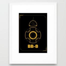 We <3 BB-8 Framed Art Print
