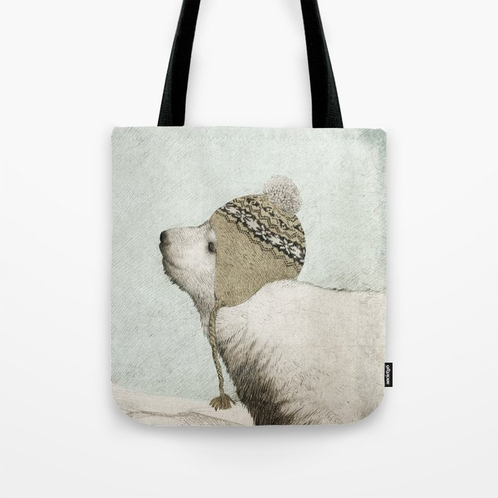 First Winter Tote Bag