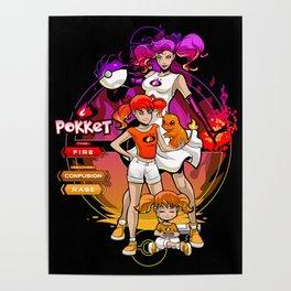 Pokket Evolve Accessories Poster