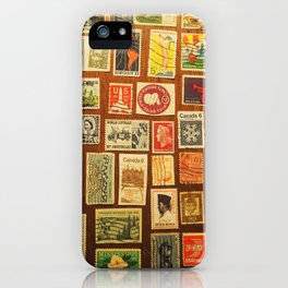 stamps iPhone Case