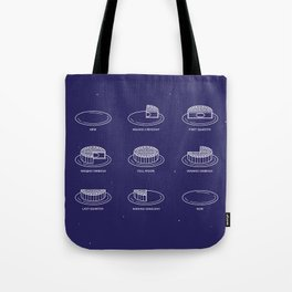 Phases of the moon(cake) // 月餅相 Tote Bag