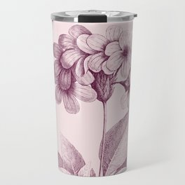 Flower Sketch #003 Travel Mug