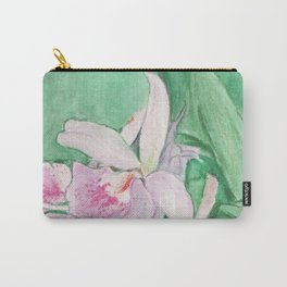 Orchid Cascade Carry-All Pouch
