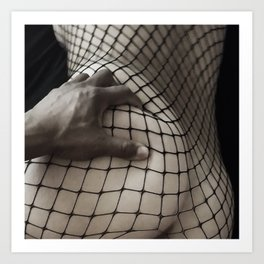 Body Stocking Art Print