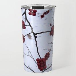Winter Berries Travel Mug