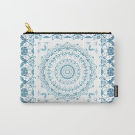 In Blue (Pattern Mandala) Carry-All Pouch