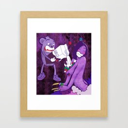 Dinner (Freaks Come Out at Night) Framed Art Print