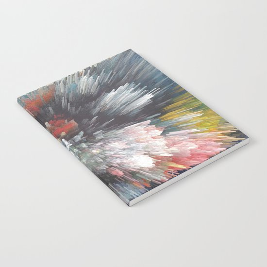 Abstract night Notebook
