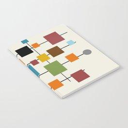 Mid-Century Modern Art 1.3 Notebook