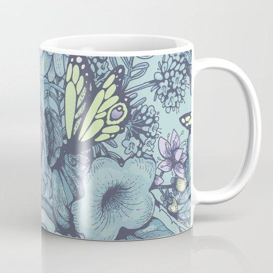 Beauty (eye of the beholder) - aqua version Mug