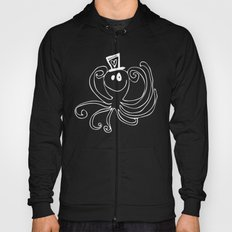 Reggie the Love Squid by Angela Lutz Hoody