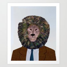 Uncle Leo's Portrait Art Print
