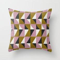 colour + pattern 10 Throw Pillow