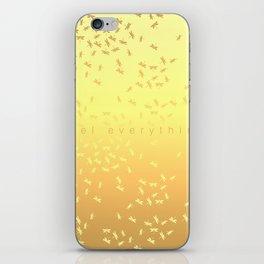 Feel everything iPhone Skin