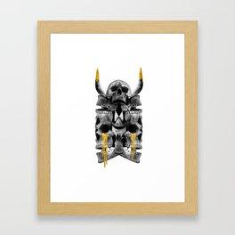 Skullidoscope Framed Art Print