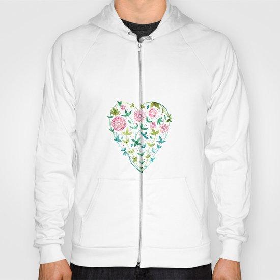 garden heart Hoody