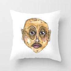 old man 1 Throw Pillow