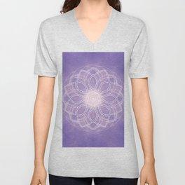 Inner Wisdom Mandala Unisex V-Neck