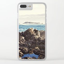 Rocky Outcrop Clear iPhone Case