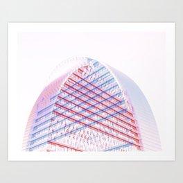 Architecture Exposed Twice Art Print