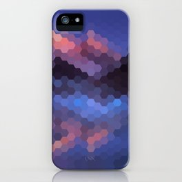 Abstract geometric pattern iPhone Case