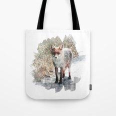 How I met a Fox Tote Bag