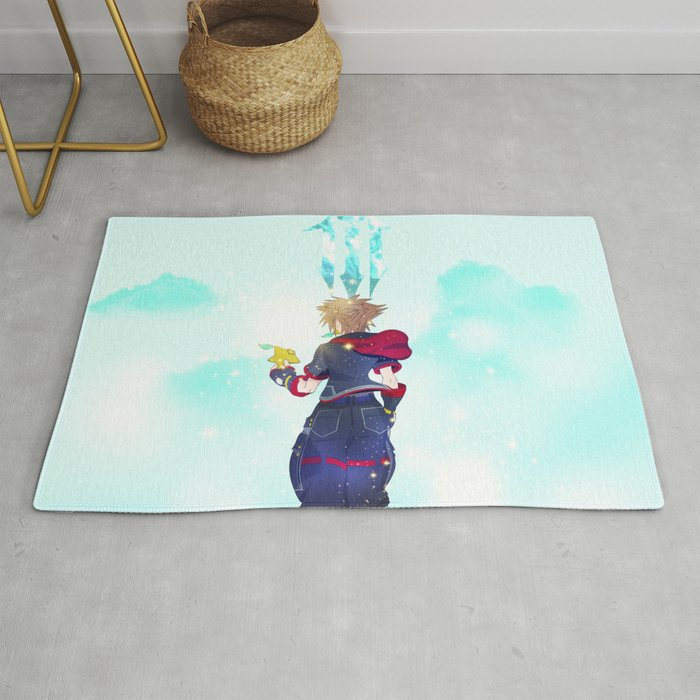 Kingdom Hearts - The Final World Rug